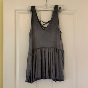American Rag NWT lace back tank